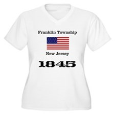 Franklin Township w/ Flag & Date T-Shirt