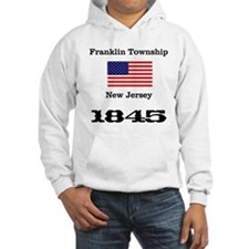 Franklin Township w/ Flag & Date Hoodie