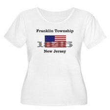 Franklin Township w/ Flag\Date T-Shirt