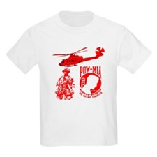 POW-MIA Red T-Shirt