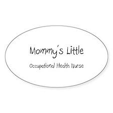 Mommy's Little Occupational Health Nurse Decal