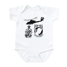 POW-MIA Black Infant Bodysuit