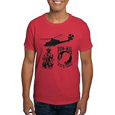 POW-MIA Black T-Shirt