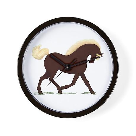Rocky Mountain Horse Wall Clock