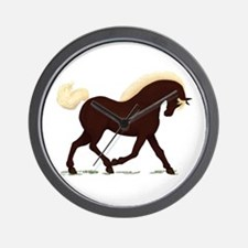 Rocky Mountain Horse Wall Clock
