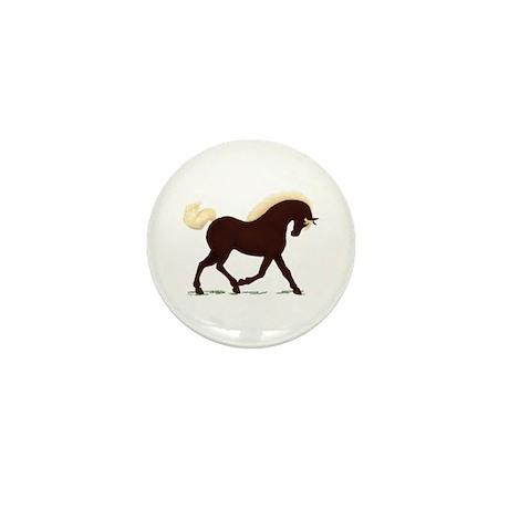 Rocky Mountain Horse Mini Button (10 pack)