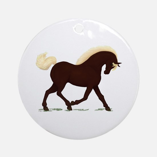 Rocky Mountain Horse Ornament (Round)