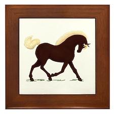 Rocky Mountain Horse Framed Tile