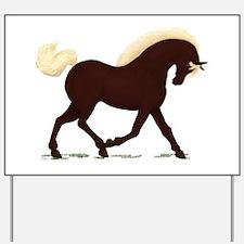 Rocky Mountain Horse Yard Sign