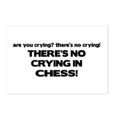 There's No Crying in Chess Postcards (Package of 8