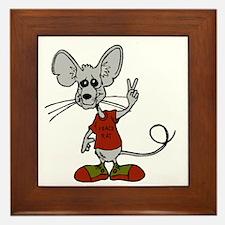 Cool Rats Framed Tile