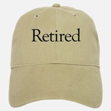 Retired Baseball Baseball Cap