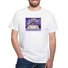 Priscilla CAT Prefers Purple Shirt