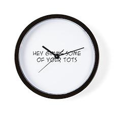 Cute Vote for pedro Wall Clock