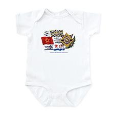 Soviet Military Infant Bodysuit