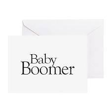 Baby Boomer Greeting Card