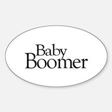 Baby Boomer Oval Decal
