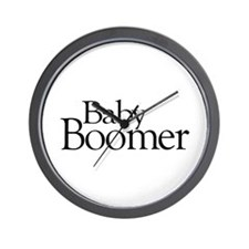 Baby Boomer Wall Clock