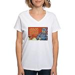 Soviet Army Women's V-Neck T-Shirt
