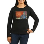 Soviet Army Women's Long Sleeve Dark T-Shirt