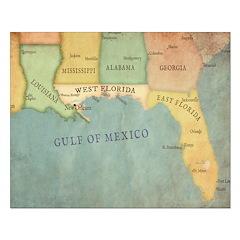 Map: West Florida