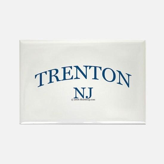 Trenton, NJ Rectangle Magnet