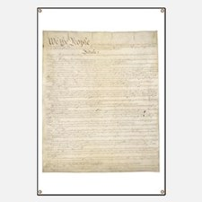 The Us Constitution Banner