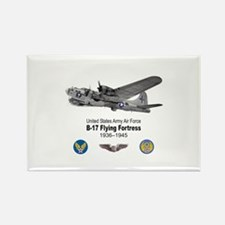 B-17 Flying Fortress T-shirts Rectangle Magnet