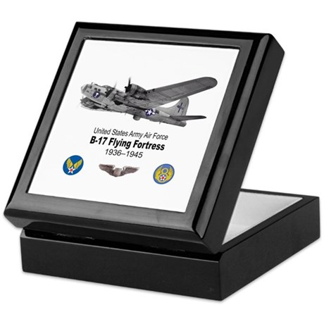 B-17 Flying Fortress T-shirts Keepsake Box