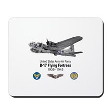 B-17 Flying Fortress T-shirts Mousepad