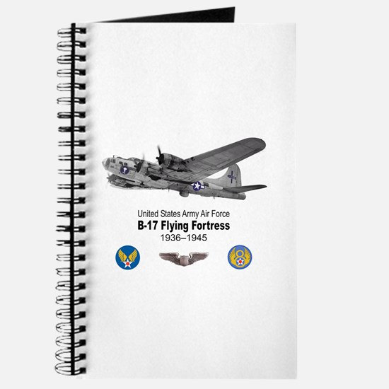B-17 Flying Fortress T-shirts Journal