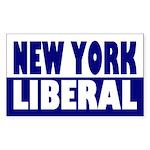 New York Liberal (bumper sticker)