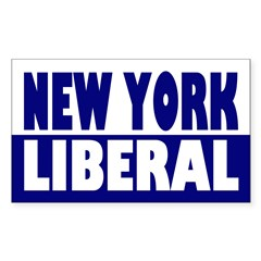New York Liberal (bumper sticker)