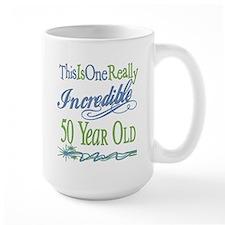 Incredible 50th Mug