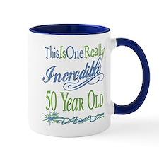 Incredible 50th Small Mug
