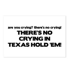There's No Crying Texas Hold 'Em Postcards (Packag