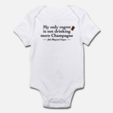 Keynes Wine Quote Infant Bodysuit