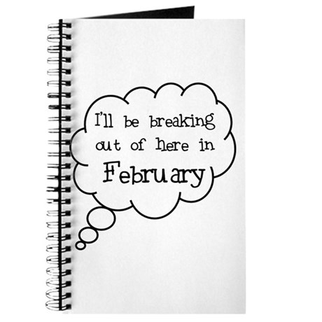 """Breaking Out February"" Journal"