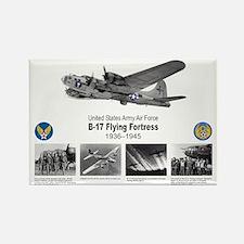 B-17 Commemorative Rectangle Magnet