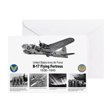 B-17 Commemorative Greeting Card