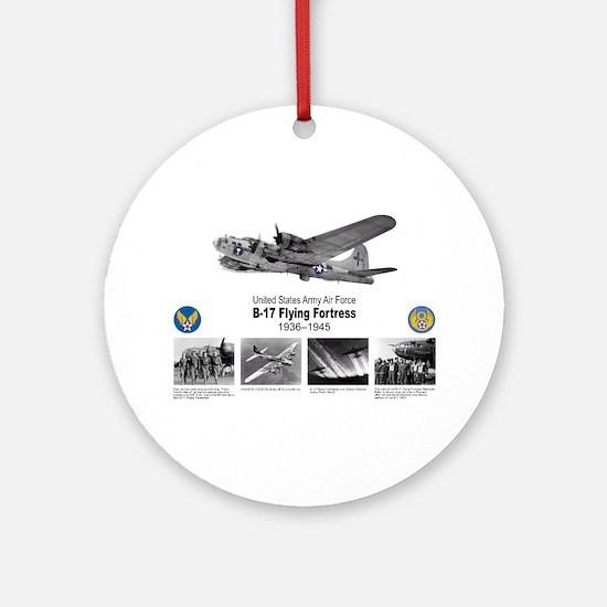 B-17 Commemorative Ornament (Round)