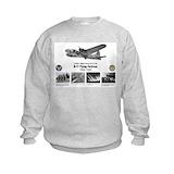 B 17 bomber Crew Neck