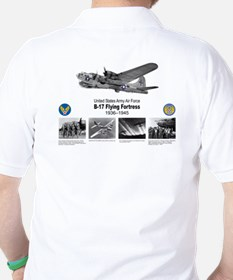 B-17 Commemorative Golf Shirt