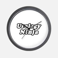 """Urology Ninja"" Wall Clock"