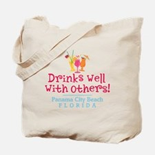 Drinks Well With Others - Tote or Beach Bag