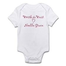 Noelle Grace Worth the Wait Personalized Baby Body