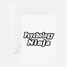 """Psychology Ninja"" Greeting Card"