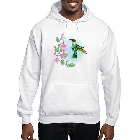 FUCIA HUMMINGBIRD Hooded Sweatshirt