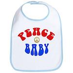 GDPR Peace Baby Bib