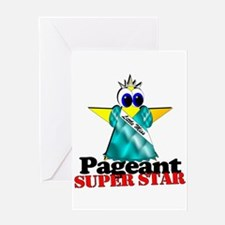 Pageant Super Star Greeting Card